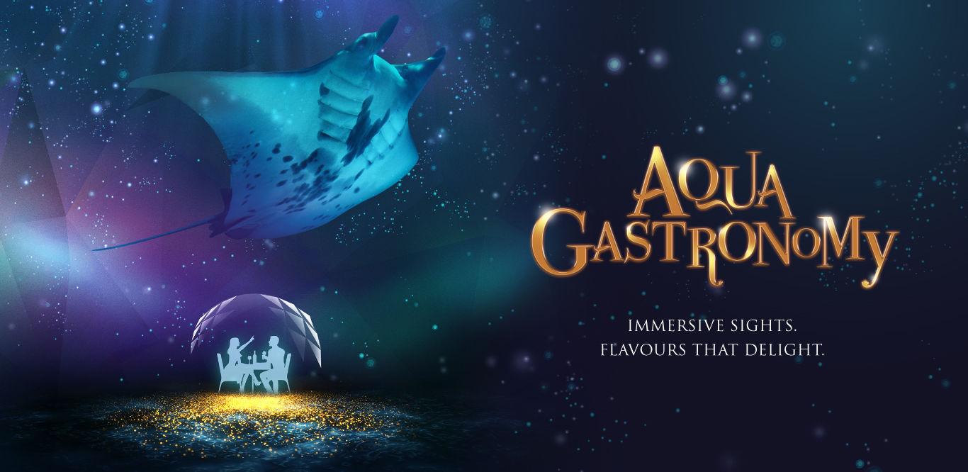 Aqua Gastronomy by Resorts World Sentosa: 4 Sept – 31 Oct 2020 (Singapore)