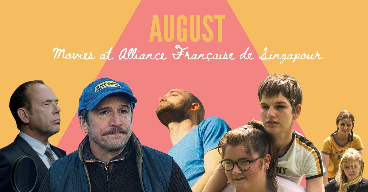 Movies at Alliance Française de Singapour: 20 – 22 August 2020 (Singapore)