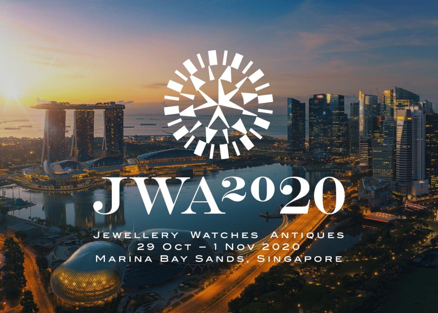 JWA 2020: 29 Oct – 1 Nov 2020 (Singapore)