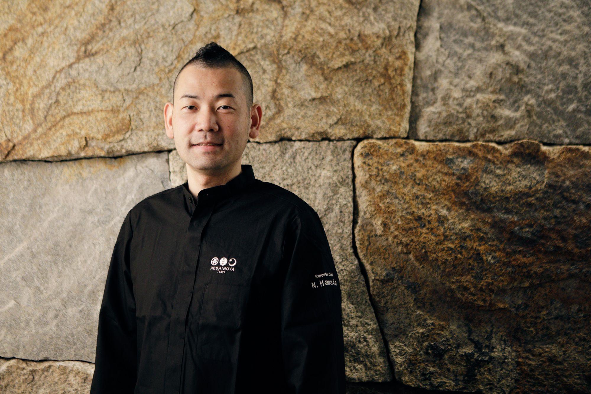 Executive Chef of HOSHINOYA Tokyo: Noriyuki Hamada