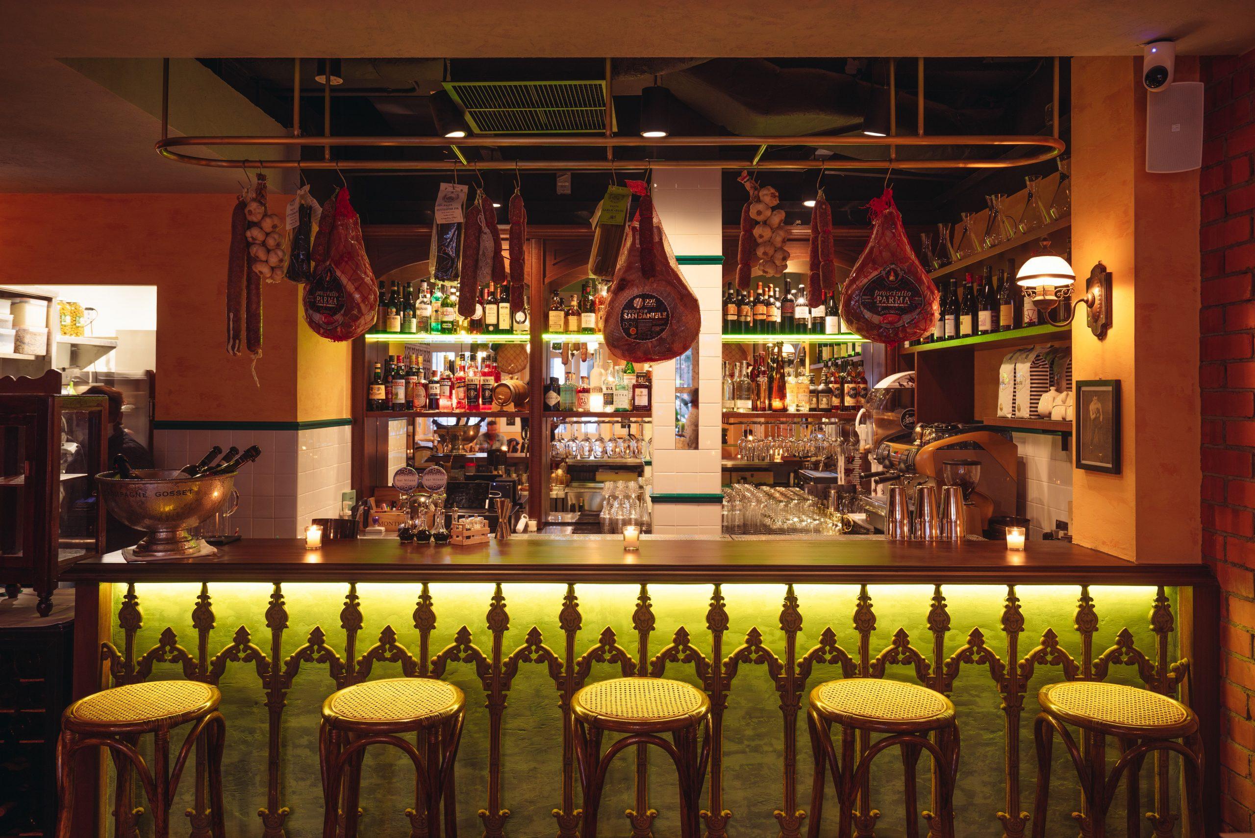 bar Milano: La vita è bella