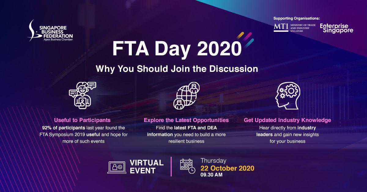 FTA Day 2020: 22 October 2020 (Online)