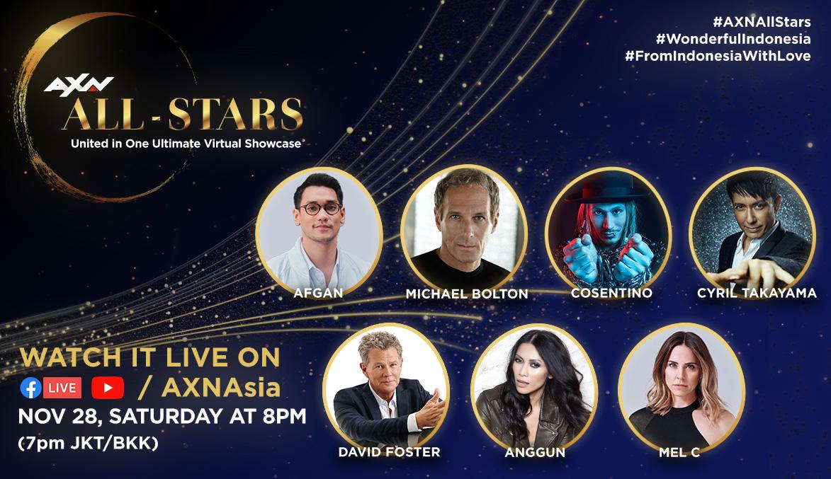 AXN All-Stars: 28 Nov 2020 (Online)