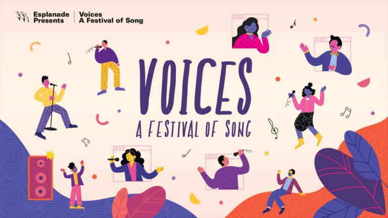 Voices – A Festival of Song 2020: 1 – 20 Dec 2020 (Singapore)