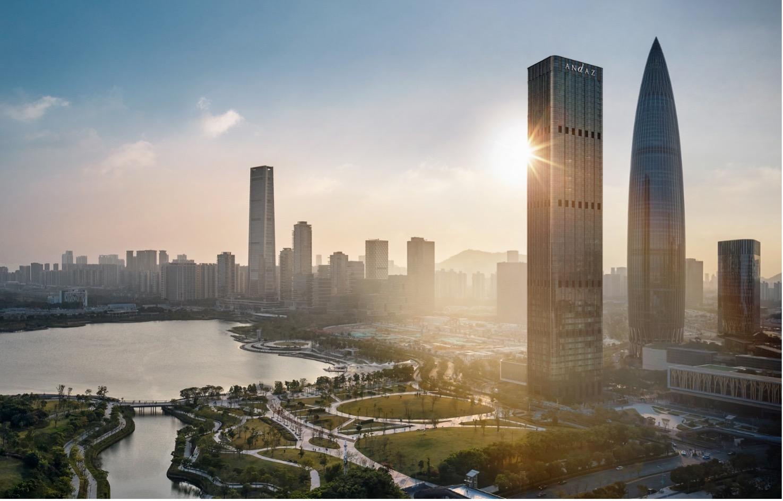 Andaz Shenzhen Bay makes its debut